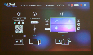 ezcast screen